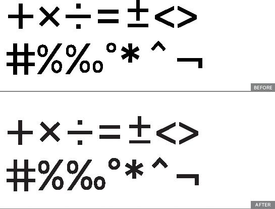 MathSigns